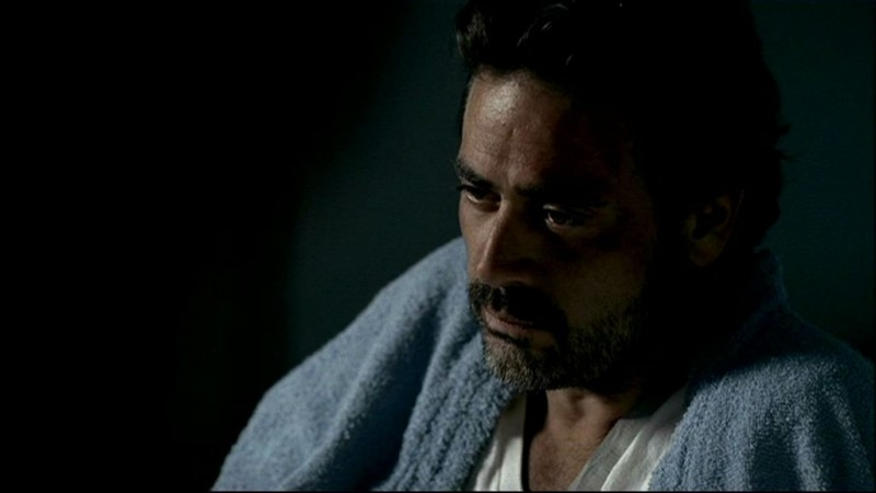 Jeffrey Dean Morgan nell'episodio, 'In my time of dying' della serie Supernatural