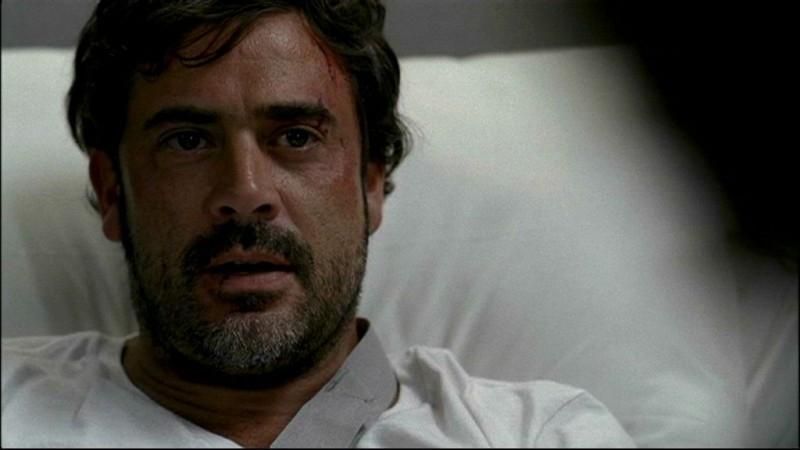 Jeffrey Dean Morgan nella puntata 'In my time of dying' della serie Supernatural