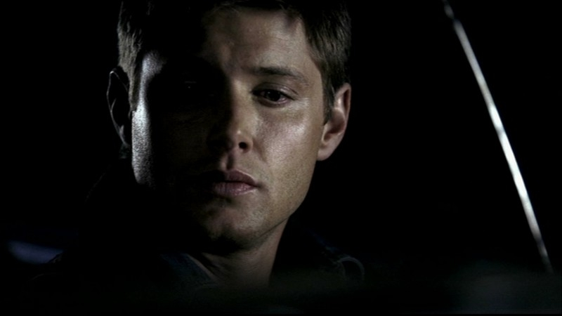 Jensen Ackles nei panni di Dean Winchester, nell'episodio 'Salvation' di Supernatural