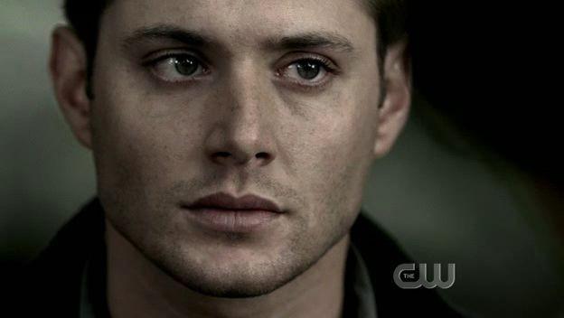 Jensen Ackles nel ruolo di Dean Winchester nell'episodio 'Children shouldn't play with dead things' della serie Supernatural