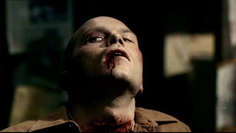 Josh Bkacker, nei panni di Caleb, un cacciatore amico dei Winchester, nell'episodio 'Salvation' di Supernatural