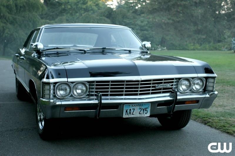 La bellissima Impala, il tesoro di Dean Winchester, nell'episodio 'Children shouldn't play with dead things' della serie Supernatural
