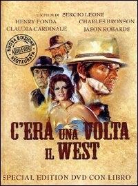 La copertina DVD di C'era una volta il west - Special Edition