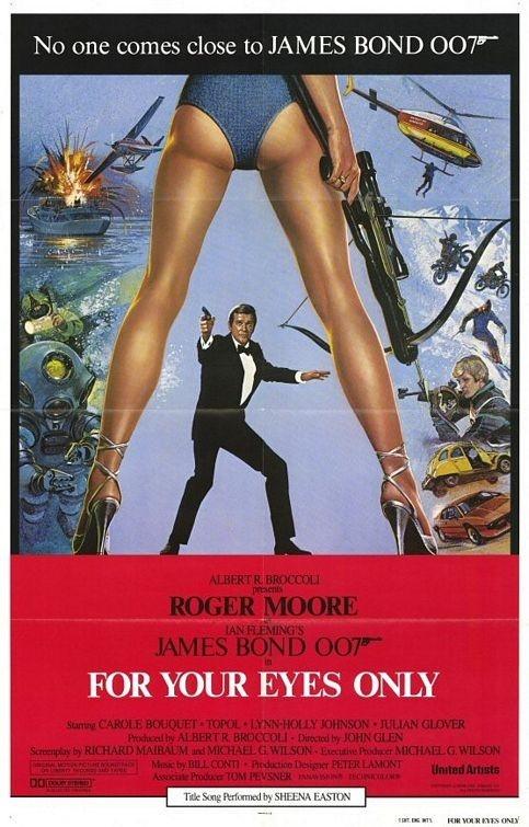 La locandina di Agente 007, solo per i tuoi occhi