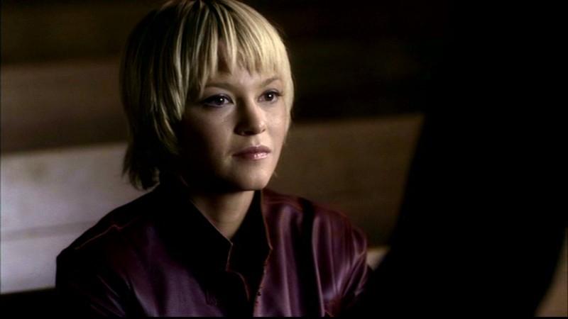 Nicki Lynn Aycox, nel ruolo di Meg, una ragazza posseduta, nell'episodio 'Una città da salvare' di Supernatural