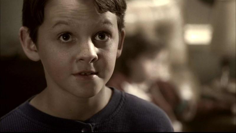 Ridge Canipe nel ruolo del giovane Dean Winchester nell'episodio 'Something Wicked' di Supernatural