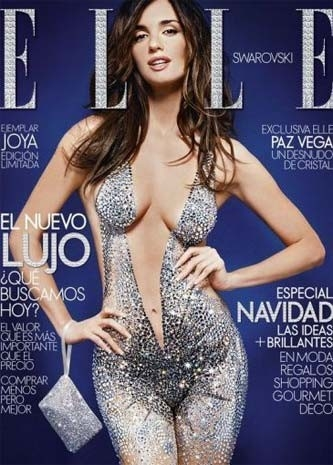 Una splendida Paz Vega sulla cover del magazine Elle