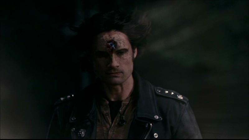 Warren Christie, nel ruolo del vampiro Luther, nell'episodio 'Una pistola dal passato' di Supernatural