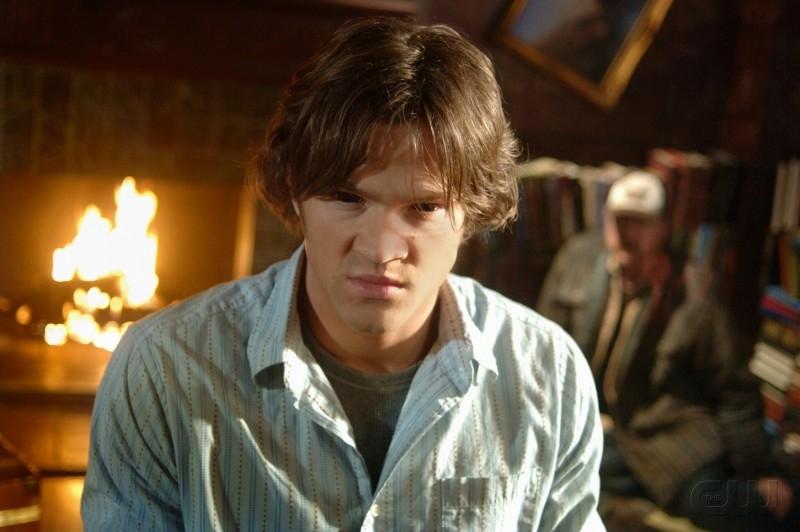 Jared Padalecki in una sequenza drammatica dell'episodio 'Born under a bad sign' della serie tv Supernatural