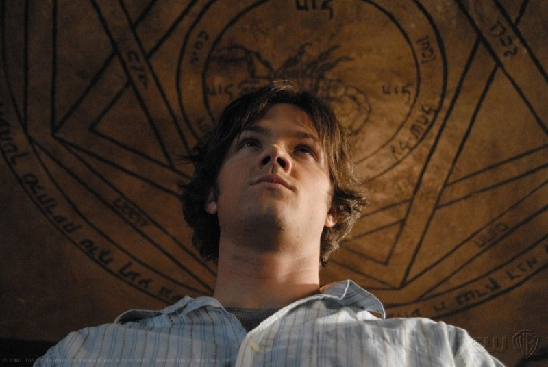 Jared Padalecki in 'Born under a bad sign' episodio della serie tv Supernatural