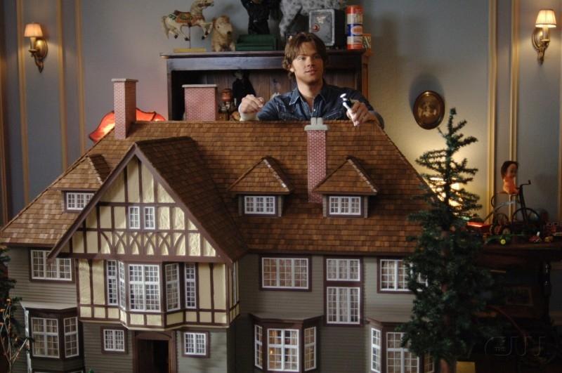 Jared Padalecki nel ruolo di Sam Winchester nell'episodio 'Playthings' della serie Supernatural