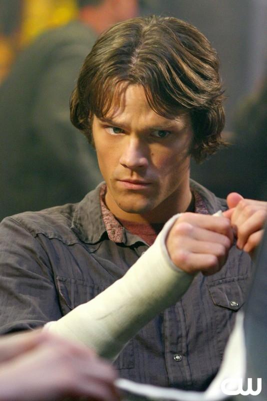 Jared Padalecki nel ruolo di Sam Winchester nell'episodio 'Simon said' della serie tv Supernatural