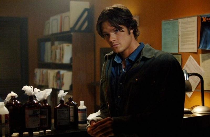 Jared Padalecki nell'episodio 'Croatoan' della serie Supernatural