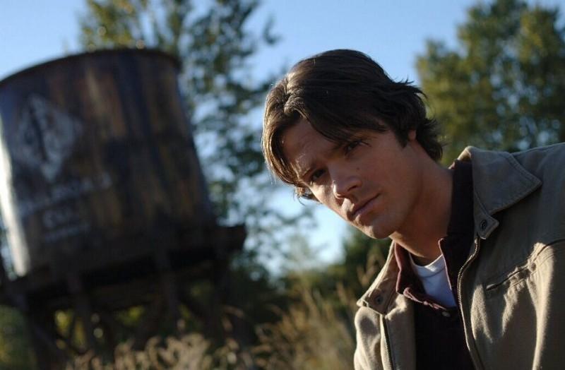 Jared Padalecki nell'episodio 'Crossroad Blues' della serie Supernatural