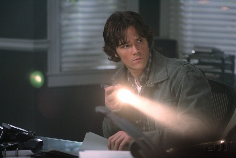 Padalecki nell'episodio I soliti sospetti della serie tv Supernatural