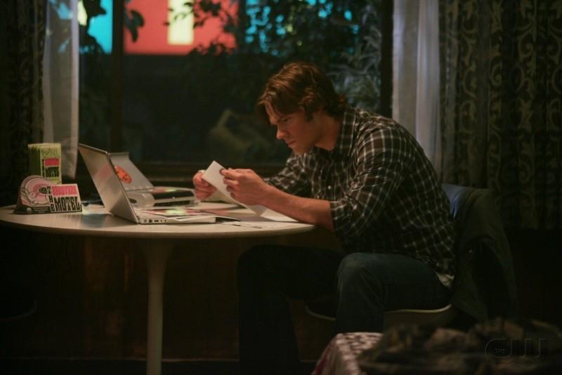 Jared Padalecki nell'episodio 'The usual suspects' della serie tv Supernatural
