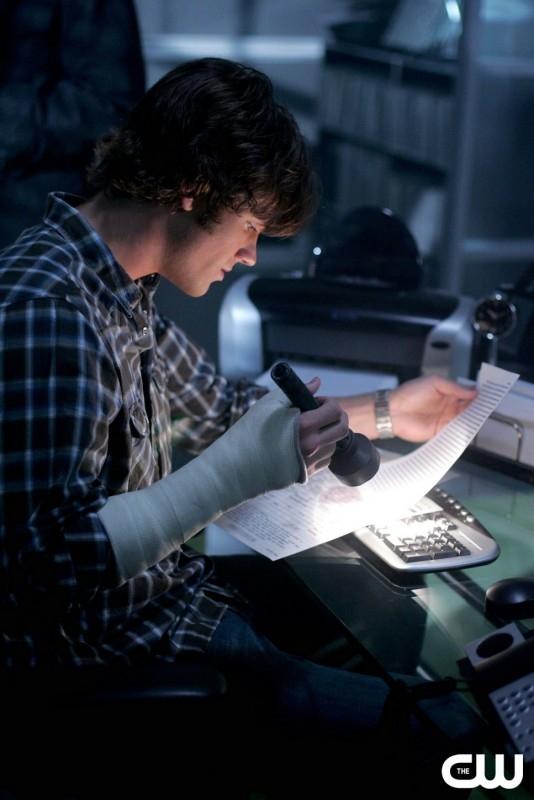 Jared Padalecki nell'episodio I soliti sospetti della serie tv Supernatural