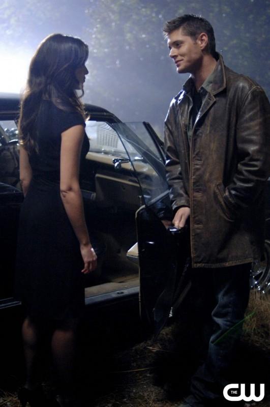 Jensen Ackles e Christie Laing nell'episodio 'Crossroad Blues' della serie Supernatural