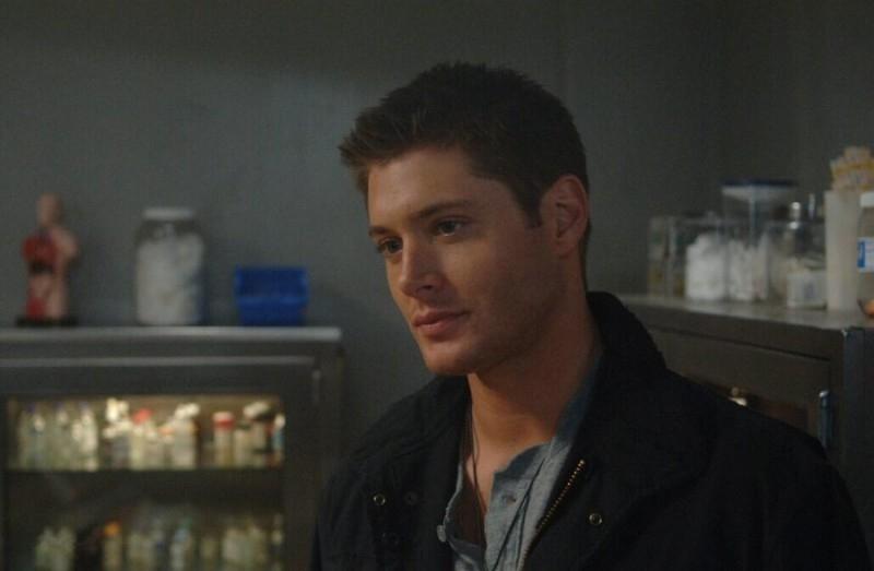 Jensen Ackles nel ruolo di Dean Winchester nell'episodio 'Croatoan' del serial Supernatural
