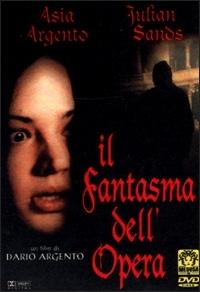 La copertina DVD di Il fantasma dell'opera
