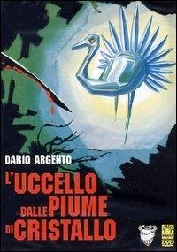 La copertina DVD di L'uccello dalle piume di cristallo