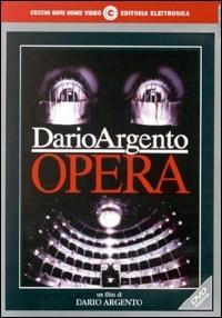 La copertina DVD di Opera