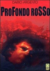 La copertina DVD di Profondo Rosso
