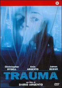 La copertina DVD di Trauma