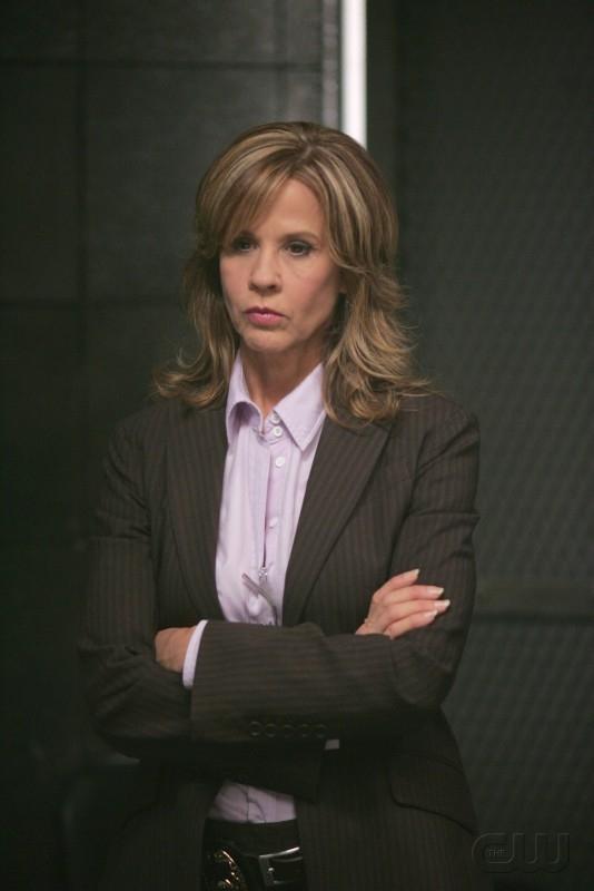 Linda Blair nell'episodio 'The usual suspects' della serie tv Supernatural
