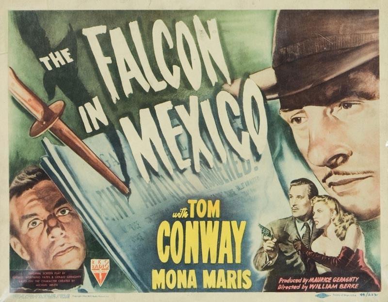 Una lobbycard promozionale de Il Falco in Messico