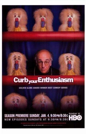 La locandina della quarta stagione di Curb Your Enthusiasm