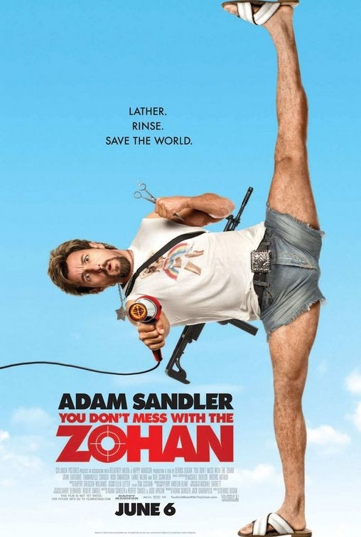 La locandina di You Don't Mess With the Zohan