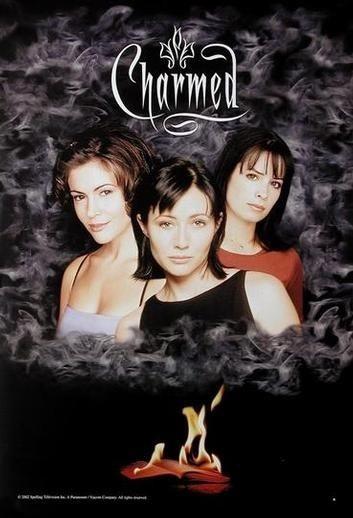 Il poster originale della serie tv Streghe