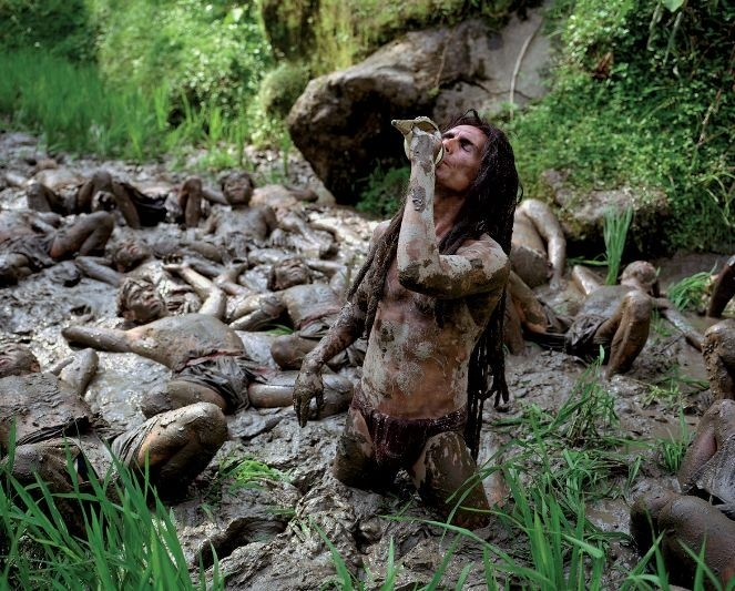 Julian Bleach in una scena di The Fall del regista Tarsem Singh