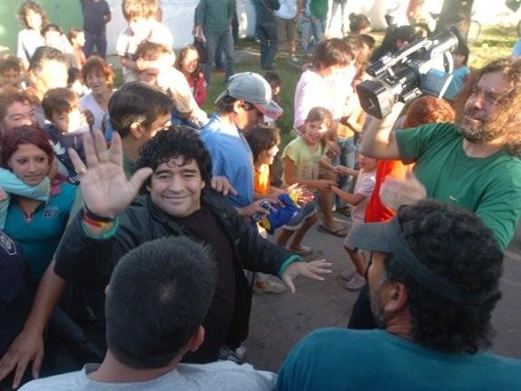 Diego Armando Maradona nel documentario Maradona by Kusturica