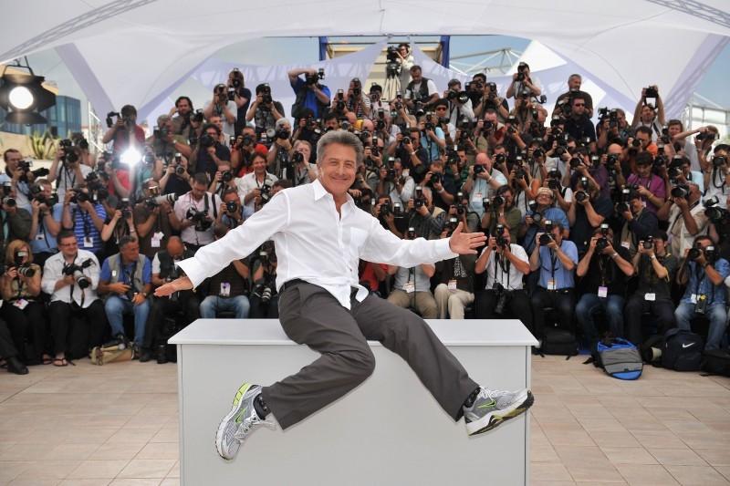 61esimo Festival di Cannes: Dustin Hoffman presenta alla stampa il film Kung Fu Panda