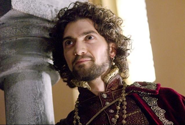 David Alpay in una scena di The Tudors