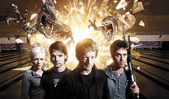 Foto promozionale della serie 'Primeval'