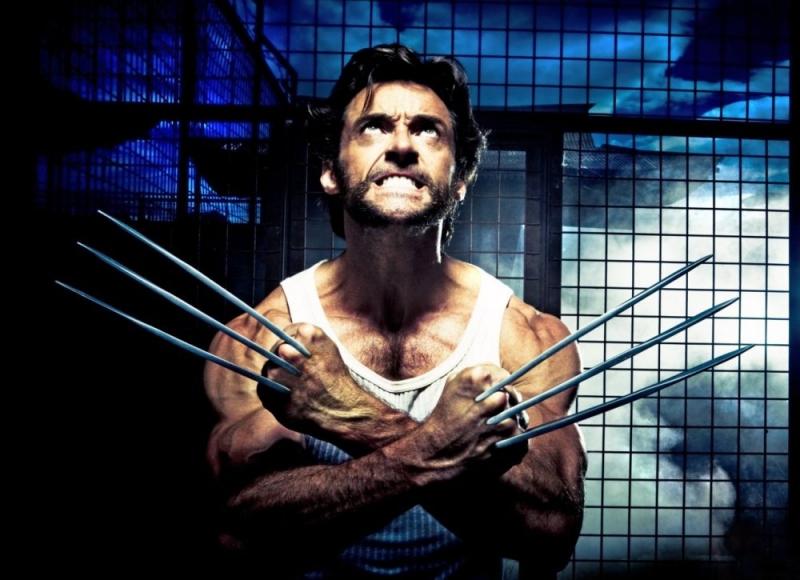 Hugh Jackman in una scena del film X-Men Origins: Wolverine