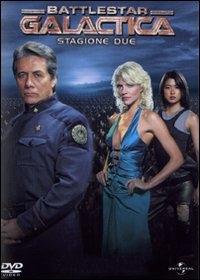 La copertina DVD di Battlestar Galactica - Stagione 02 (4 dvd)