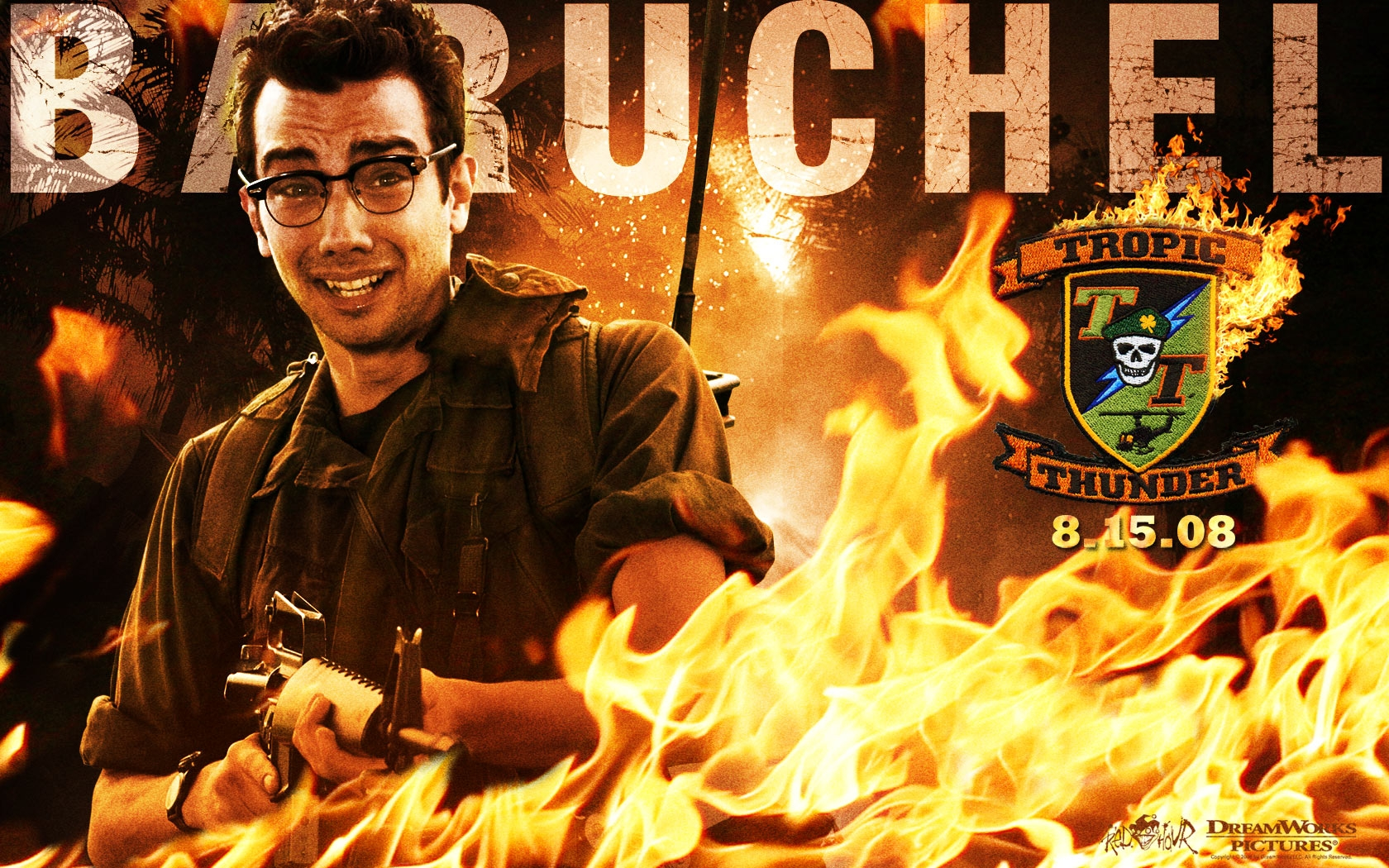 Wallpaper di Tropic Thunder