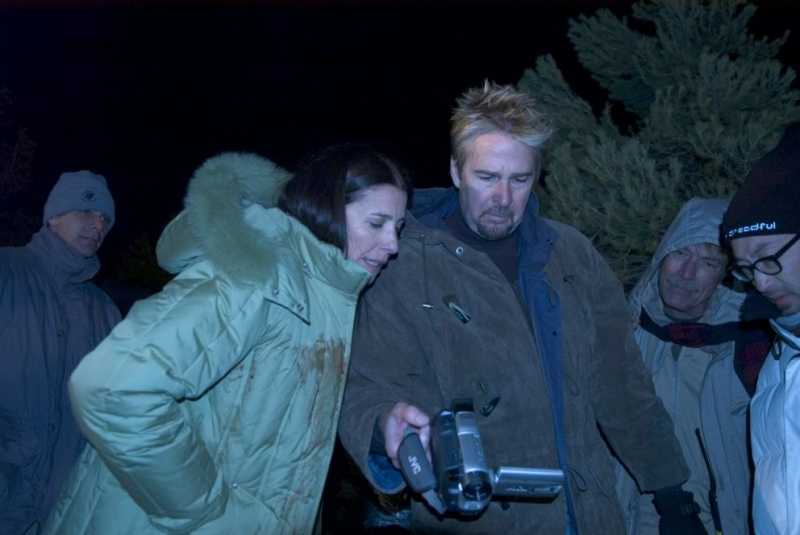Il regista Richard Brandes sul set del film Penny Dreadful