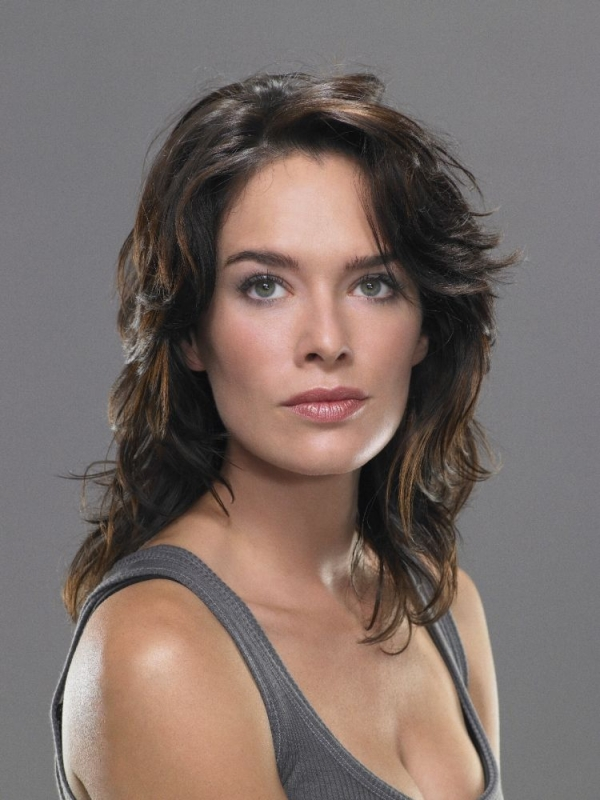 Lena Headey in un'immagine in primo piano per Terminator: The Sarah Connor Chronicles