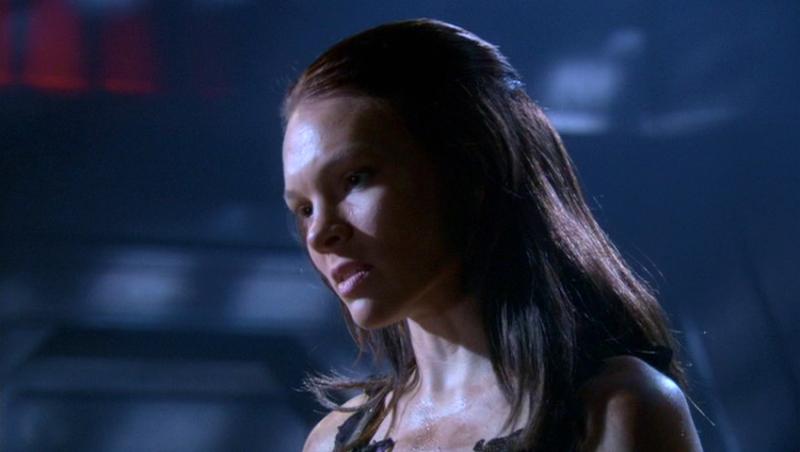 Abby Brammell nei panni di Persis, una dei Potenziati creati dal Dott. Soong nell'episodio 'I potenziati' della serie Enterprise
