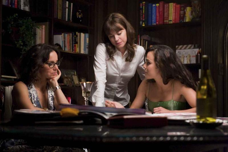 Jennifer Gray, Rebecca Pidgeon e Alice Braga in una scena del film Redbelt