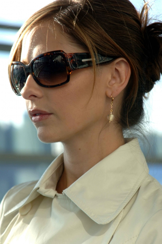 Sarah Michelle Gellar in una sequenza del film The Air I Breathe