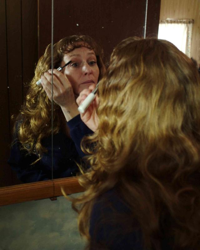 Melissa Leo in una sequenza del film Frozen River