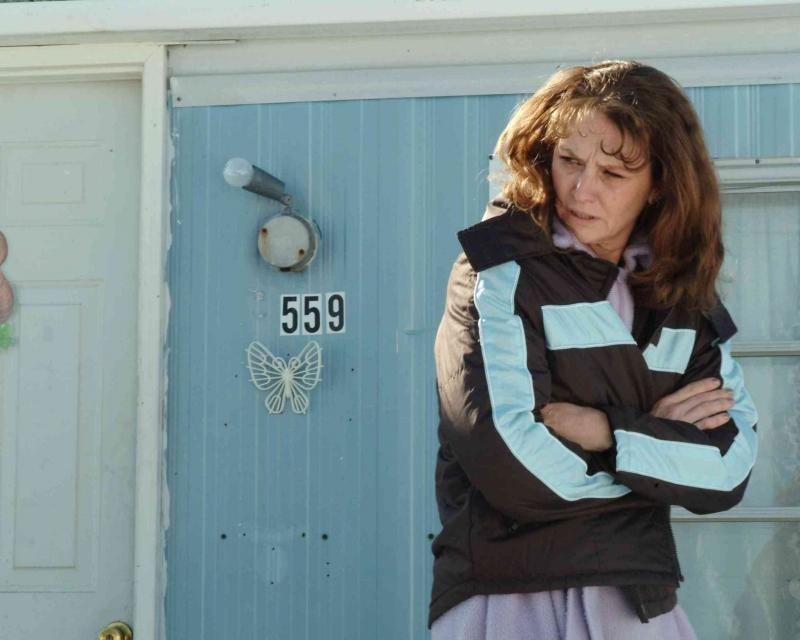 Melissa Leo interpreta Ray Eddy nel film Frozen River