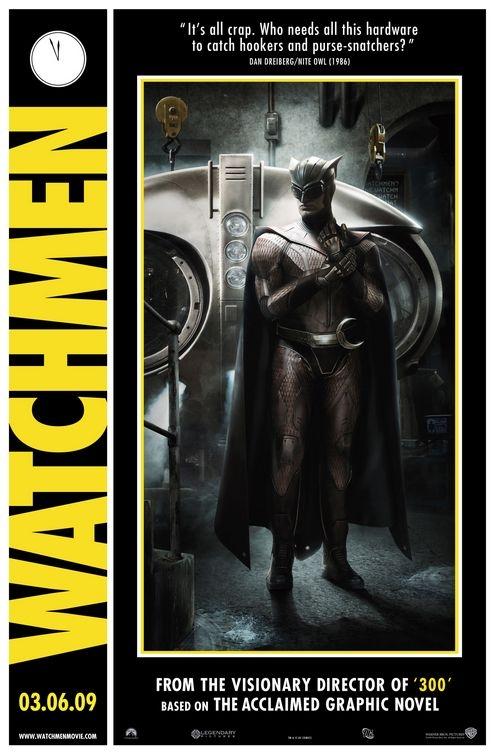 Comicon poster per Watchmen - Nite Owl