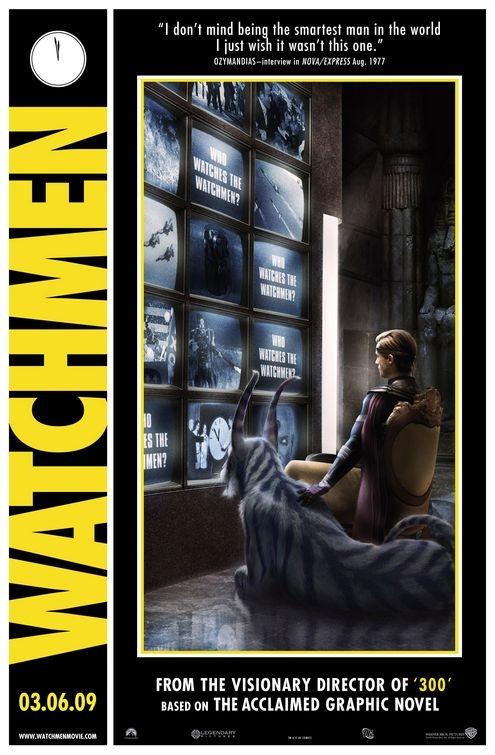 Comicon poster per Watchmen - Ozymandias